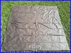Tentsmiths 8' x 8' Oilskin Tarp with reinfirced center loop