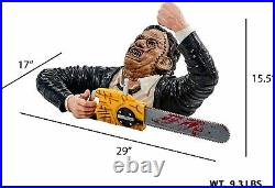 Texas Chainsaw Massacre Leatherface Grave Walker Halloween Statue Decoration