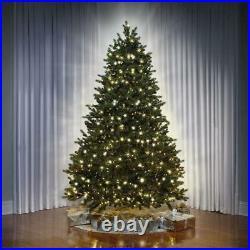 The World's Best Concolor Light Balsam Fir 7.5' Full Christmas Tree White/Multi