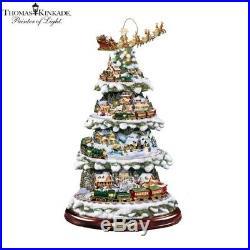 Thomas Kinkade Wonderland Express Christmas Tree Bradford Exchange