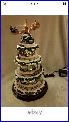 Thomas Kinkade's Wonderland Express Christmas Tree, Bradford, Village, Train