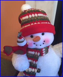 Traditional Snowman Christmas Snow man Ornament Xmas Festive Decoration Indoor