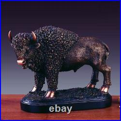 Treasure of Nature Large Buffalo Statue in Bronze Finish