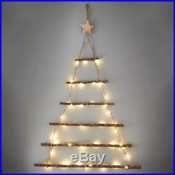 Twig Wall Christmas Tree Lit Add A Unique Decoration To Your Home 64cm