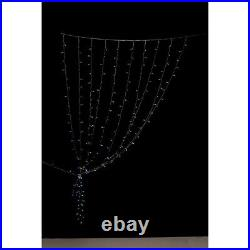 Twinkly Curtain Light 210 RGB+W LED Clear Wire Generation II NEW App Control