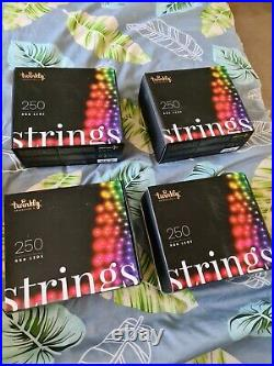 Twinkly Smart 250 (per box) String LED Christmas Lights (2nd generation)