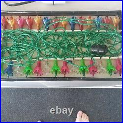 VINTAGE Pifco Merry Lights. 35 multicoloured light set