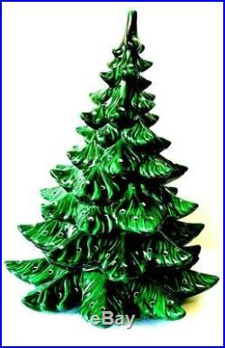 VTG Ceramic Christmas Tree 19 Atlantic Mold 1967 SUPER PRISTINE CONDITION