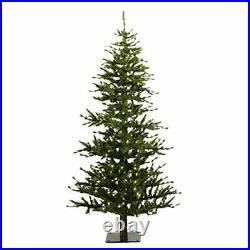 Vickerman 6' Minnesota Pine Half Artificial Christmas Tree Unlit
