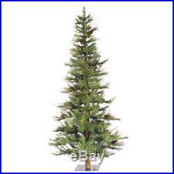 Vickerman Ashland 6 Foot Unlit Slim Pencil Decorative Artificial Christmas Tree