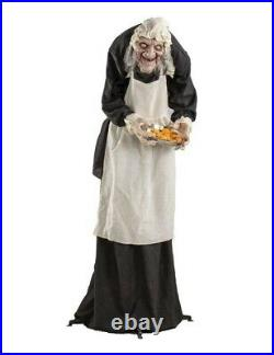 Victorian Trading Co Hagatha Christie Witch Life Size Animated Halloween Figure