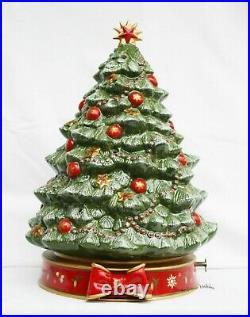 Villeroy & Boch Toys Delight Weihnachtsbaum mit Spieluhr Oh Tannenbaum 33 cm