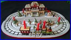 Villeroy & Boch Toys Village Bahnhof kpl. Weihnachten train station Christmas