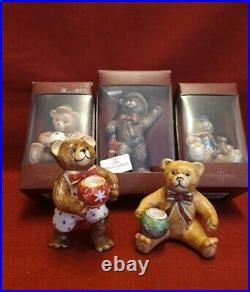 Villeroy & Boch v&b 5x Nostalgic Dreams Teddy neuwertig OVP