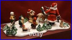 Villeroy & Boch v&b Nostalgic Market / Weihnachtsmann mit Kindern 30cm