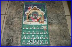 Vintage 1987 Avon Christmas Countdown Advent Calendar With original mouse