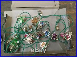 Vintage 20x Pifco Christmas Tree Fairy Lights Cinderella Carriages & Lanterns