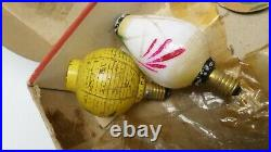 Vintage Christmas Lights Lanterns 1950s or 60s READ DESCRIPTION Free UK P+P