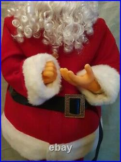 Vintage Extra Large 50 Santa Claus Father Christmas Figure Decoration Display
