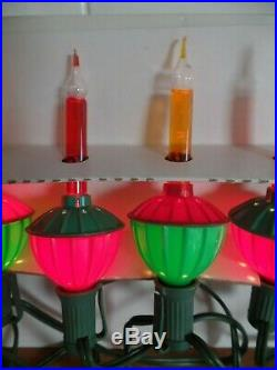 Vintage Noma 14 Christmas Bubble Lights FULL SET UP! Everything needed included