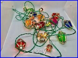 Vintage Pifco 20 London Light Christmas Lanterns Fairy Lights Working Retro Old