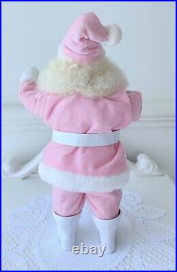 Vintage Pink Santa Harold Gale Rare MINT And Pink vintage Elf