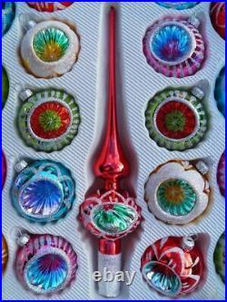 Vintage Retro Christmas Baubles Luxury Christmas Decoration Set