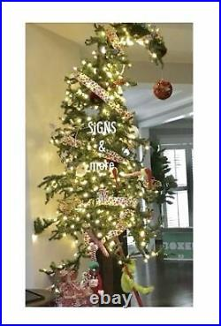 WhoVILLE 6ft. BENDABLE ALPiNE TREE WhoVILLE GRINCH CHRISTMAS TREE! FUN