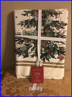Williams Sonoma TWAS THE NIGHT BEFORE CHRISTMAS Tablecloth 70 x 90 NEW