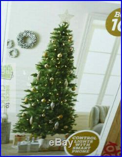 Wondershop Christmas Tree Slim Balsam Fir Smart LIT 7.5'x41 Multi #10 MSRP $400