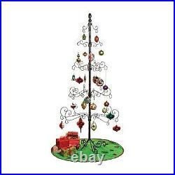 Wrought Iron Christmas Ornament Display Tree 83