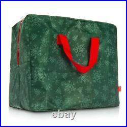 Zip Up Christmas Tree Storage Bag Xmas Decorations Lights Festive Organiser Sack